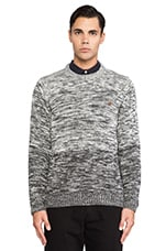 The Swannel Sweater in Charcoal