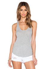 Lilith Racerback Tank in Heather Grey