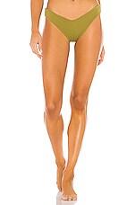 F E L L A Chad Bikini Bottom in Moss