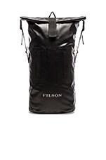 Dry Duffle Backpack in Black