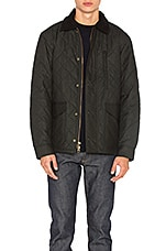 Filson Quilted Mile Marker In Navy Grey Revolve