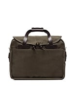 Large Briefcase/Computer Case in Otter Green