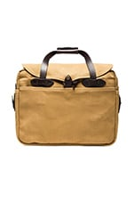 Briefcase Computer Bag en Dark Tan