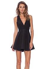 Get Away Mini Dress in Black