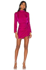 Finders Keepers Yasmine Dress in Fuchsia