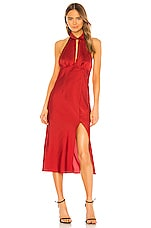 Finders Keepers Gabriella Dress in Red