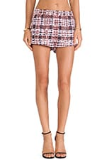 Dream Weaver Short in Tartan Print