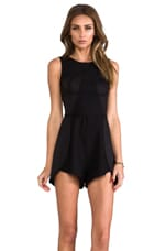 Back to December Playsuit in Black