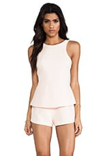 Finders Keepers Stranger In Paradise Playsuit in Apricot