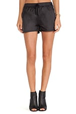 Parachute Shorts in Black