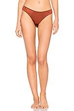 High Leg Bikini in Saffron