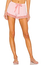 Flora Nikrooz Snuggle Short in Peach Skin
