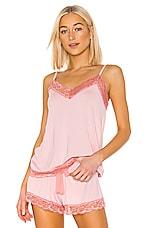Flora Nikrooz Snuggle Knit Cami in Peach Skin
