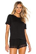 Flora Nikrooz Snuggle T Shirt in Black