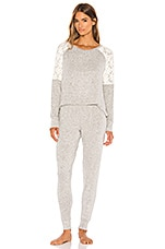 Flora Nikrooz Genna PJ Set in Heather Grey