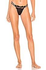 Flora Nikrooz Showstopper Thong in Black