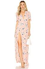 FLYNN SKYE Celeste Maxi Dress in Evening Bouquet