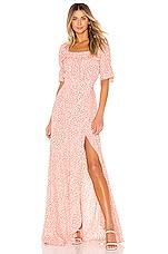 FLYNN SKYE Kalani Maxi Dress in Call Me Crazy