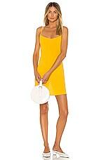 FLYNN SKYE Molly Mini Dress in Daffodil