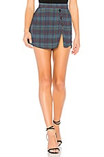 FLYNN SKYE X REVOLVE Angelica Skort in Blue Plaid