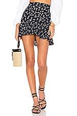 FLYNN SKYE Michelle Mini Skirt in Daisy Duke