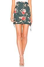FLYNN SKYE Maren Mini Skirt in Lotus Lake