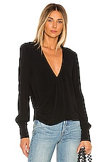 FLYNN SKYE Capri Top in Black