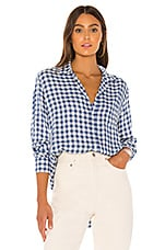 Frank & Eileen Eileen Button Down in Classic Blue Check