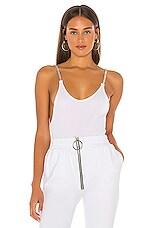 Frankie B x miss Alaina Bodysuit in White