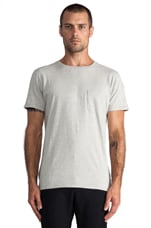 Otis Tee en Light Grey Marl