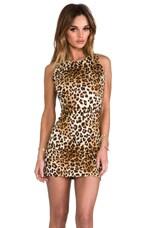 For Love & Lemons x REVOLVE Rosarito Dress in Leopard