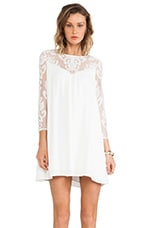 For Love & Lemons Bonita Dress in Ivory