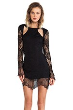 For Love & LemonsX REVOLVE Eternal Love Dress in Black