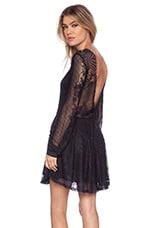 Lolo Lace Dress in Black