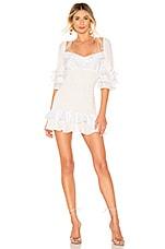 For Love & Lemons Bora Bora Mini Dress in White