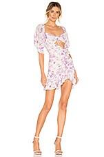 For Love & Lemons X REVOLVE Lovely Mini Dress in Lilac