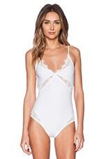 Iris Bodysuit in White