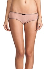 Very French Cheeky Pant in Blush & Black