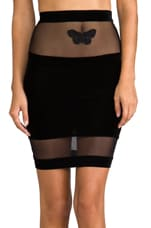 Papillon Pencil Slip in Black