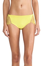 Bat Your Lashes Cheeky Pant in Chartreuse