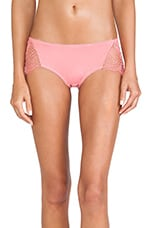 X REVOLVE Bat Your Lashes Panty in Pink Spiderweb