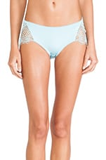 Bat Your Lashes Cheeky Pant in Turquoise