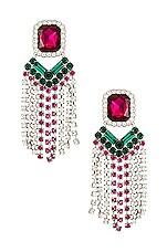 For Love & Lemons Lizette Earrings in Multi