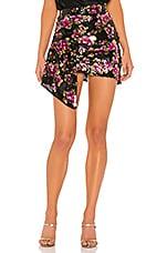 For Love & Lemons San Junipero Sequin Skirt in Dahlia