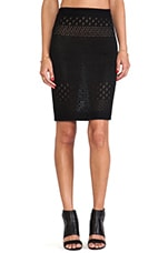 Soul Pencil Skirt in Black