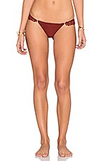 Barcelona Bikini Bottom in Deep Red