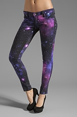 Frankie B. Jeans My BFF Jegging in Galaxy