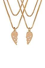 Frasier Sterling BFF Necklace Set in Gold