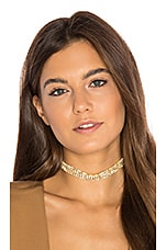 Heart of Glass Choker in Gold