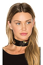 Good Fortune Choker in Black
